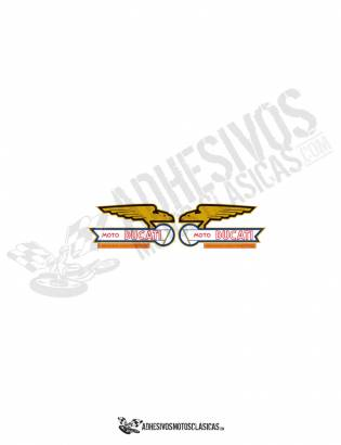 DUCATI eagles Tank Stickers
