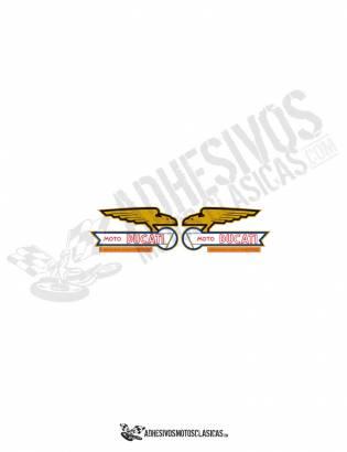 DUCATI eagles Tank Stickers