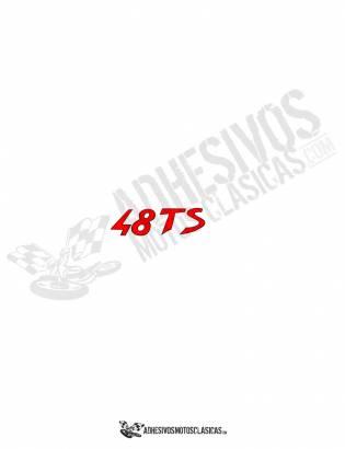 DUCATI 48 TS Sticker