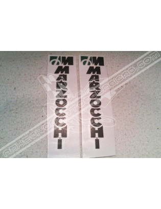 Marzocchi Black Stickers