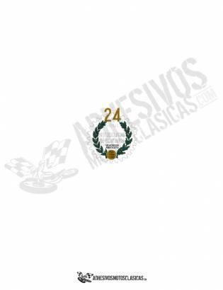 DUCATI Laureles 24 Hours Sticker II