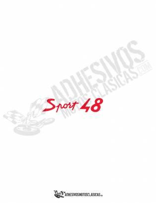 DUCATI 48 sport Sticker