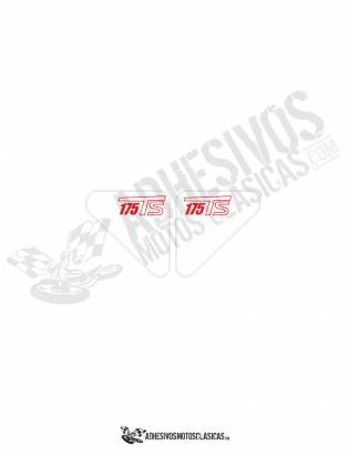 DUCATI 175 TS Stickers