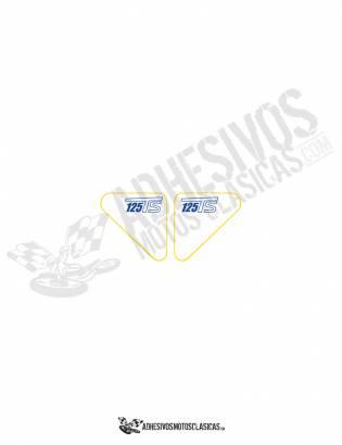 Adhesivos DUCATI 125 TS