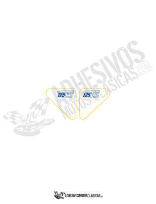 DUCATI 125 TS Stickers
