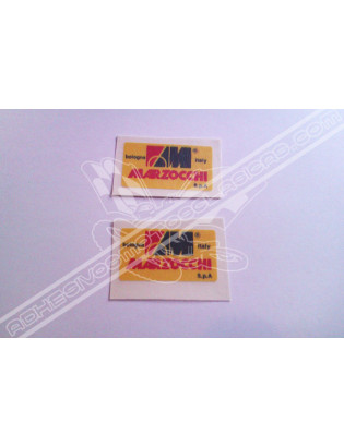 Marzocchi Yellow Stickers