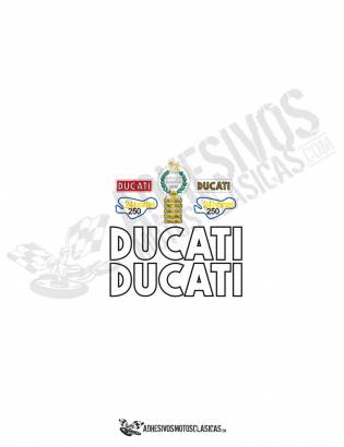 DUCATI 24 HOURS 2nd EDITION Stickers kit