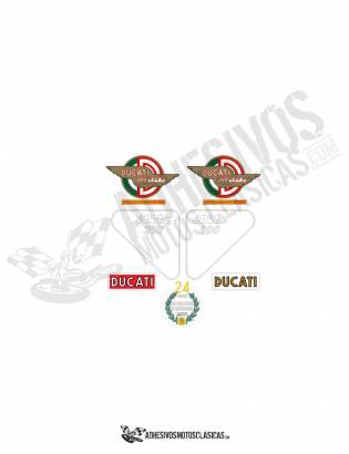 DUCATI élite 200 1st series Stickers kit