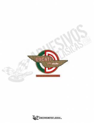 Adhesivo logo DUCATI élite 200