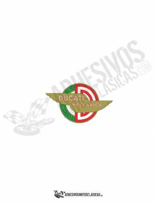 DUCATI  meccanica logo stickers
