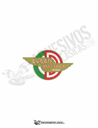 Adhesivo logo DUCATI meccanica bologna