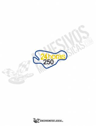 DUCATI 24 horas stickers