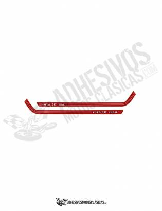 MONTESA Cota 247 TRAIL Stickers kit