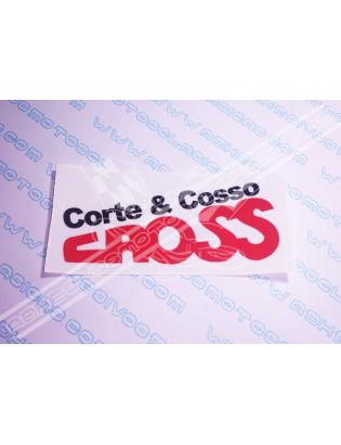 CORTE & COSSO - Cross Stickers