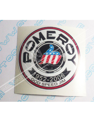 Adhesivo BULTACO Pomeroy 55mm.