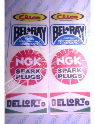 VARIOUS Sponsors Stickers 01