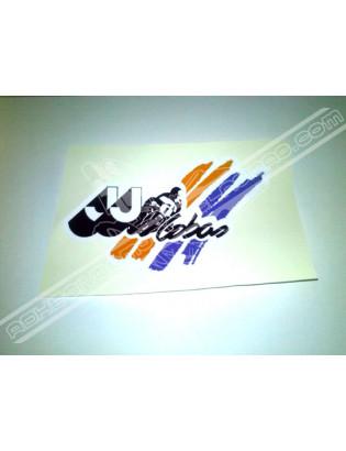 JJ COBAS Sticker