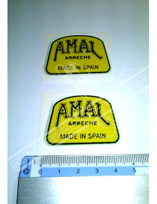 AMAL 1 Stickers