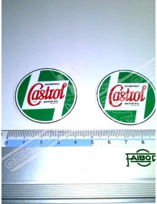 CASTROL Vintage Stickers