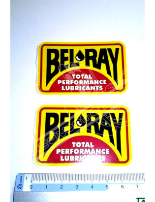 BEL RAY 1 Stickers