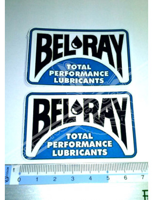 BEL RAY 2 Stickers