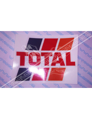 TOTAL Sticker