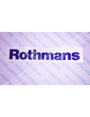 Adhesivo ROTHMANS 2