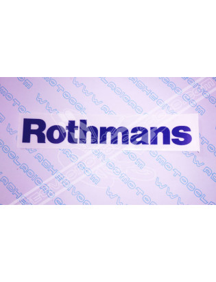 ROTHMANS 2 Sticker