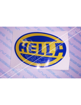 HELLA Sticker