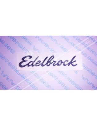 EDELBROCK Sticker