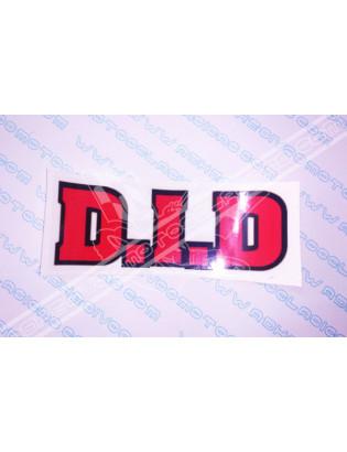 D.I.D. Sticker