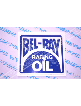 BEL-RAY Racing Oil Sticker