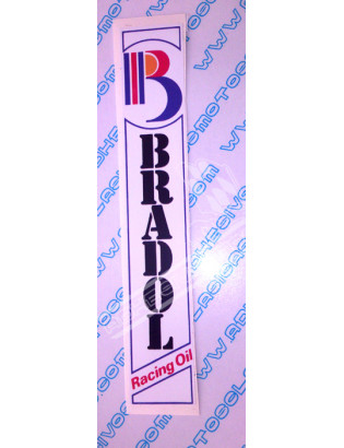 BRADOL Vertical Sticker