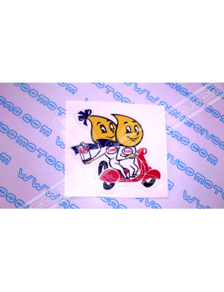 ESSO Vespa Sticker