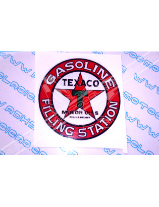 TEXACO Vintage Sticker
