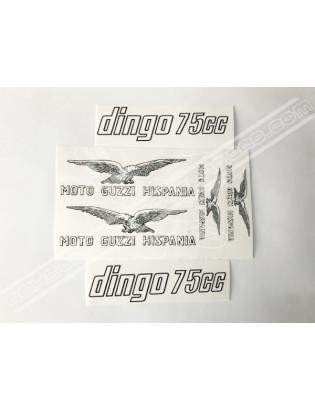 MOTO GUZZI Dingo 75cc Stickers