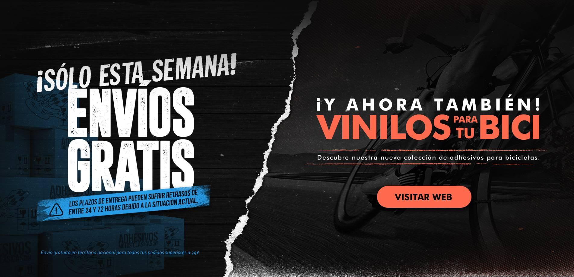 Vinilos Bici